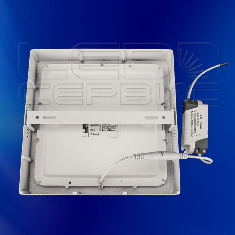 Светильник накладной LS-2835 квадратный 24Вт холодный свет