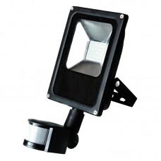 Прожектор матричный светодиодный LS-SMD 10W Slim с датчиком движения