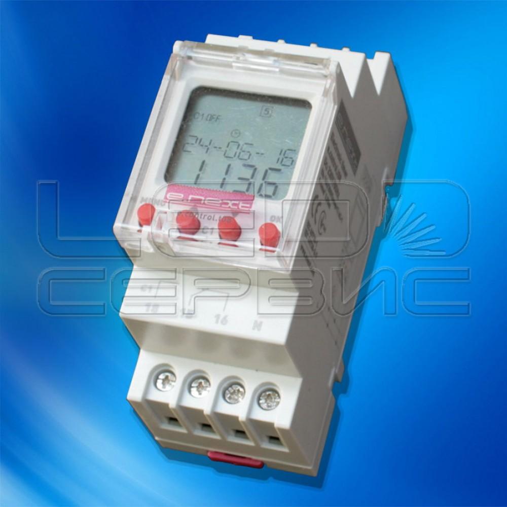 Таймер электронный e.next Control-T08