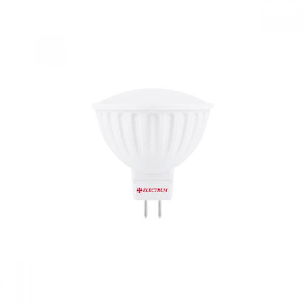 Лампа светодиодная EL MR16 5W GU5.3 4000K PA LR-12 A-LR-1514