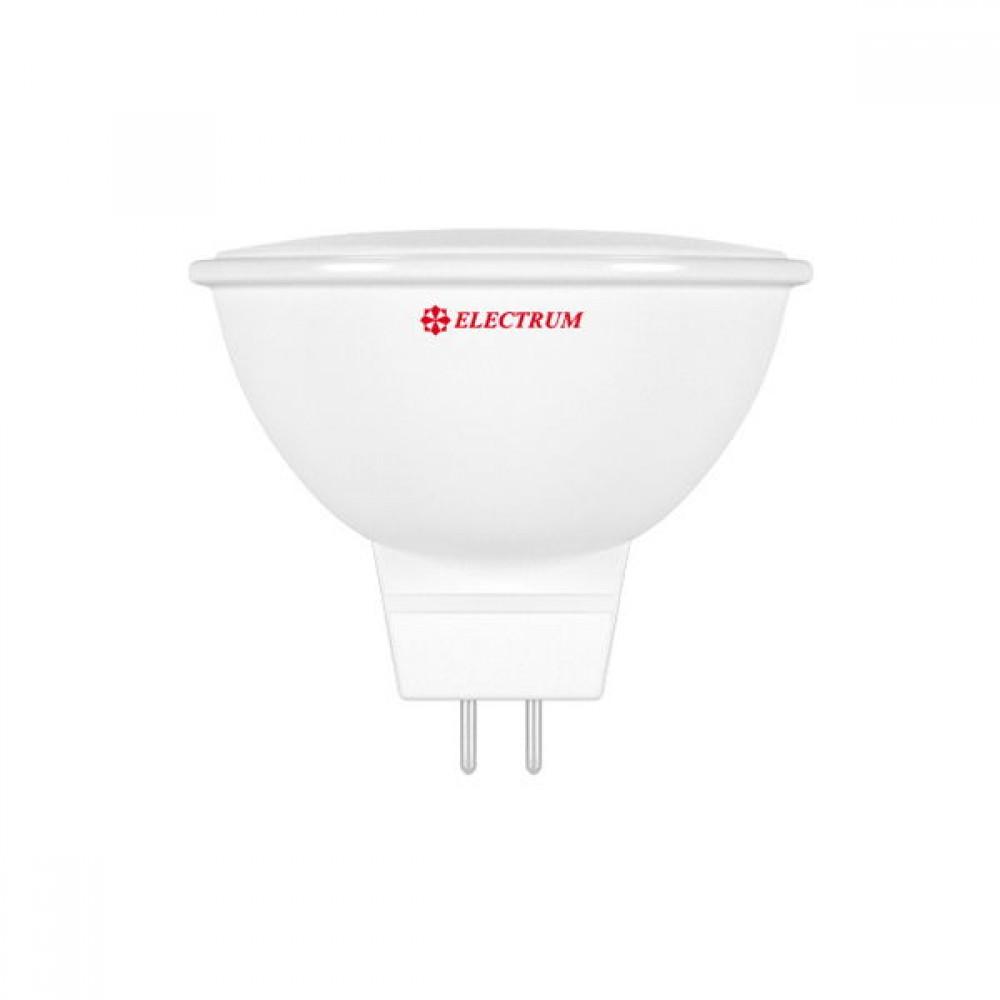 Лампа светодиодная EL MR16 5W GU5.3 4000K PA LR-5 A-LR-0555