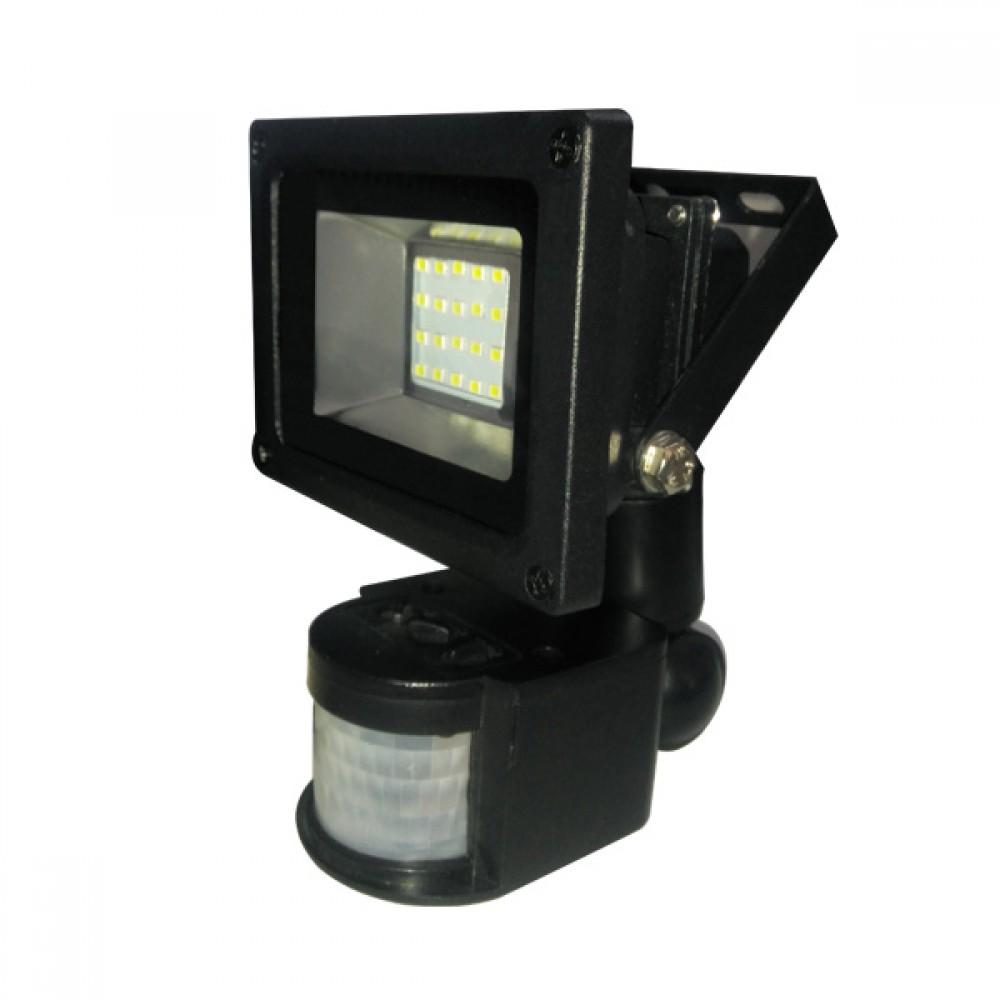Прожектор светодиодный EL LiteJet-20S B-LF-0144 20Вт с датчиком движения