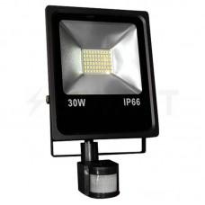 Прожектор матричный светодиодный LS-SMD 30W Slim с датчиком движения